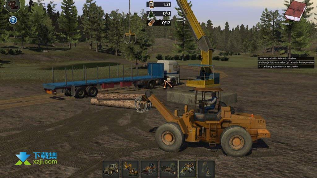 伐木工模拟2011界面4