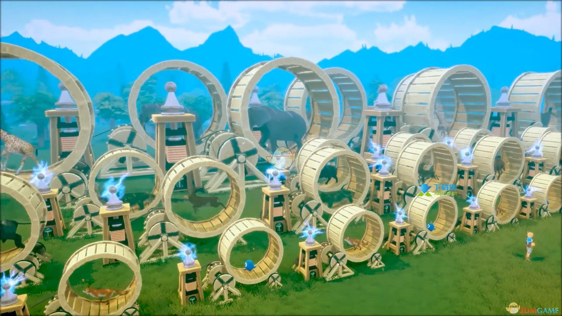 《创世理想乡》游戏中发电机怎么拆除
