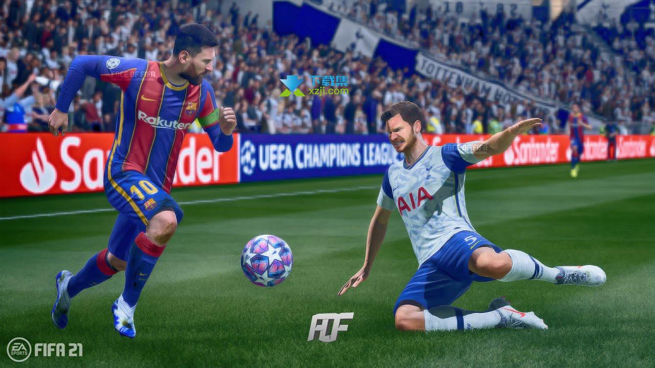 FIFA 21界面2
