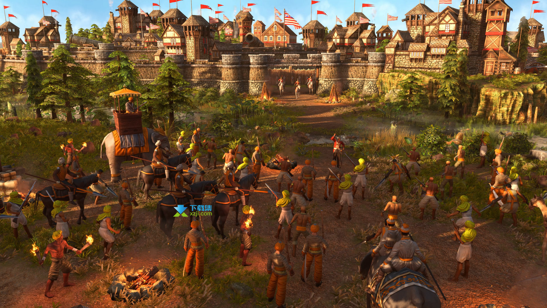 帝国时代3决定版界面1
