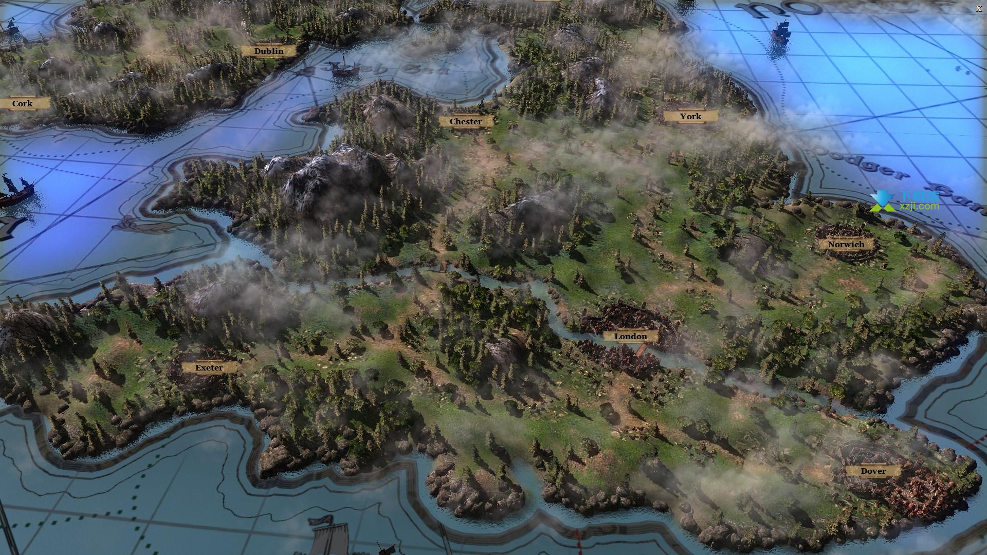 中世纪王国战争界面4