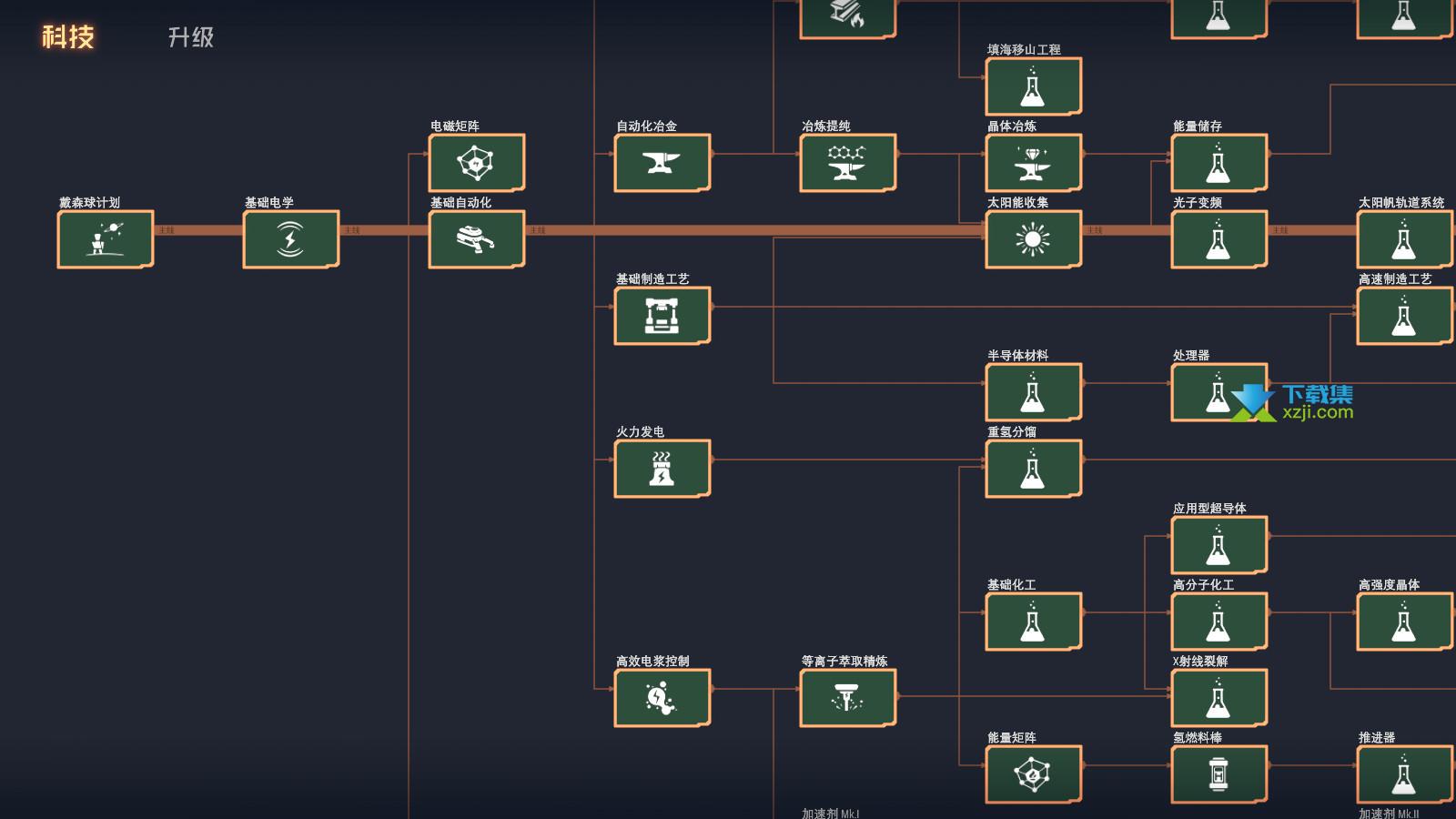 戴森球计划界面2