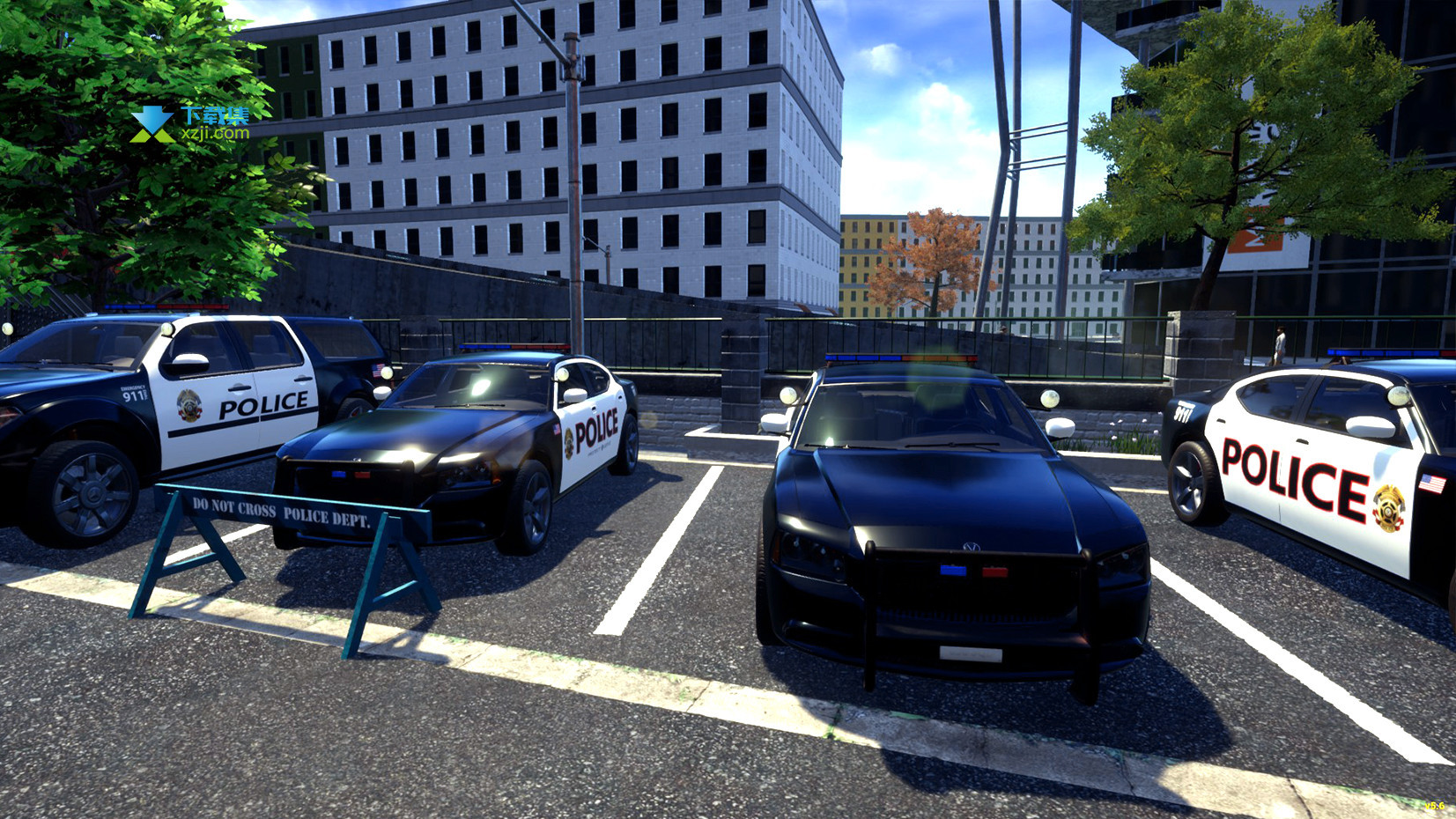 警察模拟器界面2