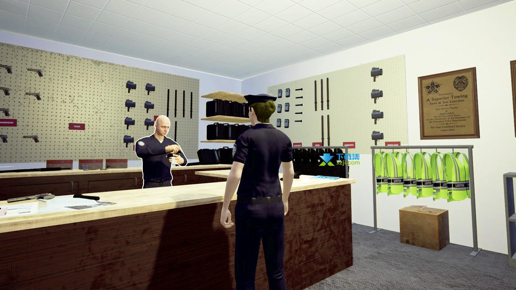 警察模拟器界面3