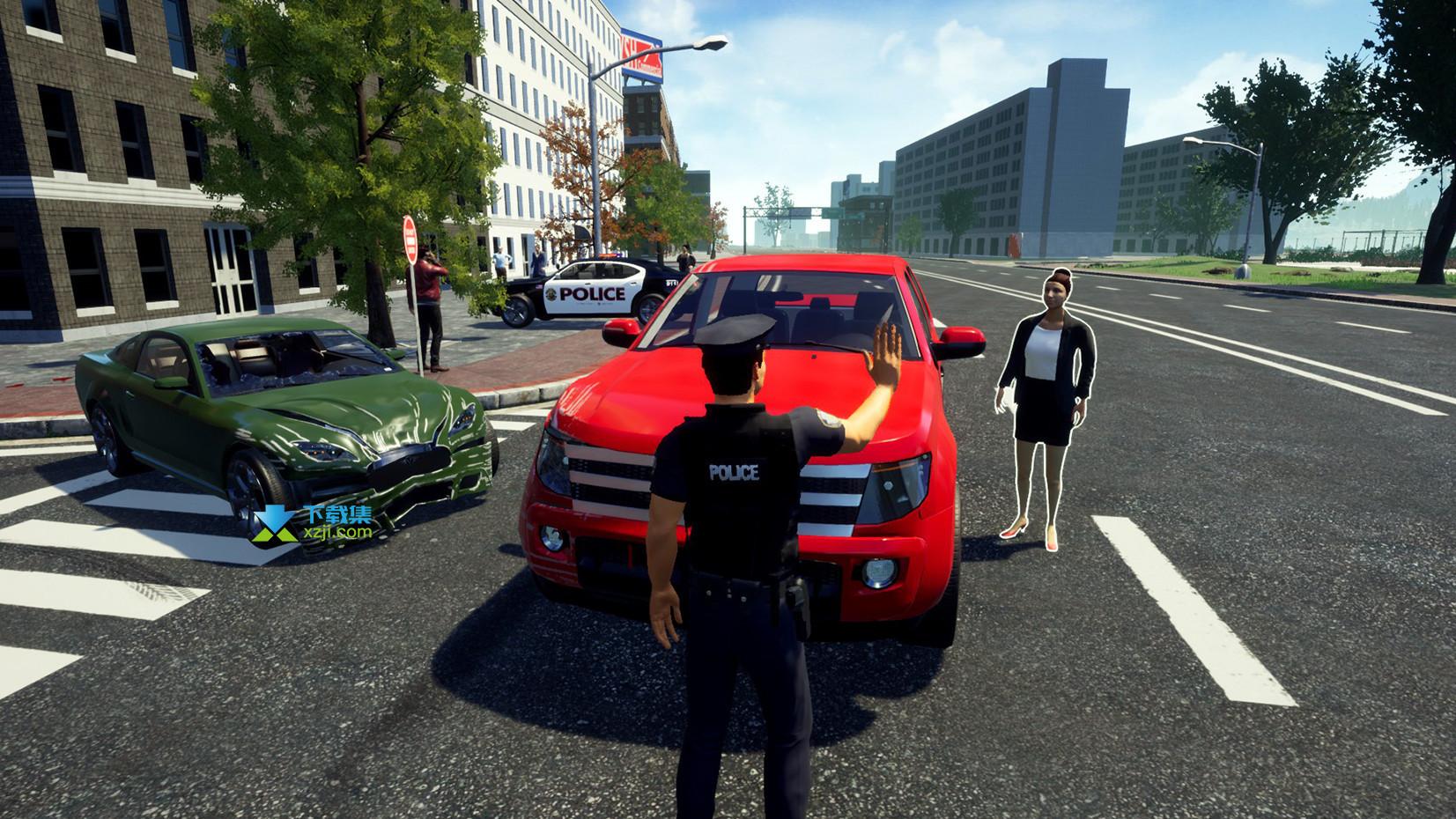 警察模拟器界面4