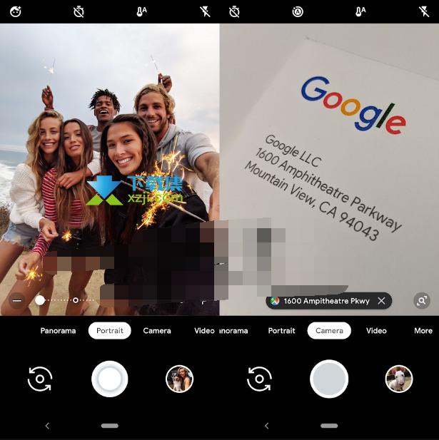 Google Camera界面
