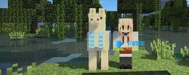 《我的世界》游戏中怎么骑羊驼