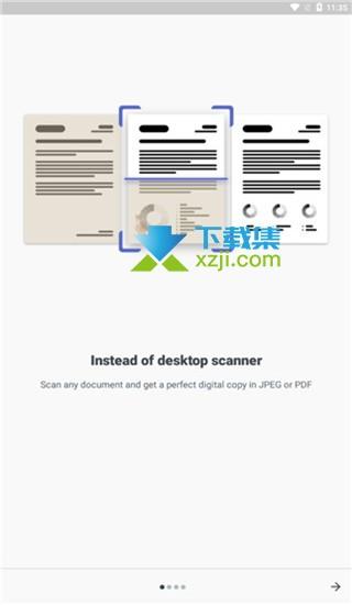 ABBYY FineScanner Pro界面1